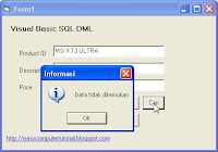 Search Data in Visual Basic using SQL Select Statement