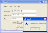 Update Data in Visual Basic using SQL Update Statement in Visual Basic
