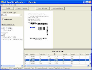 OCR.Net Barcode Components 3
