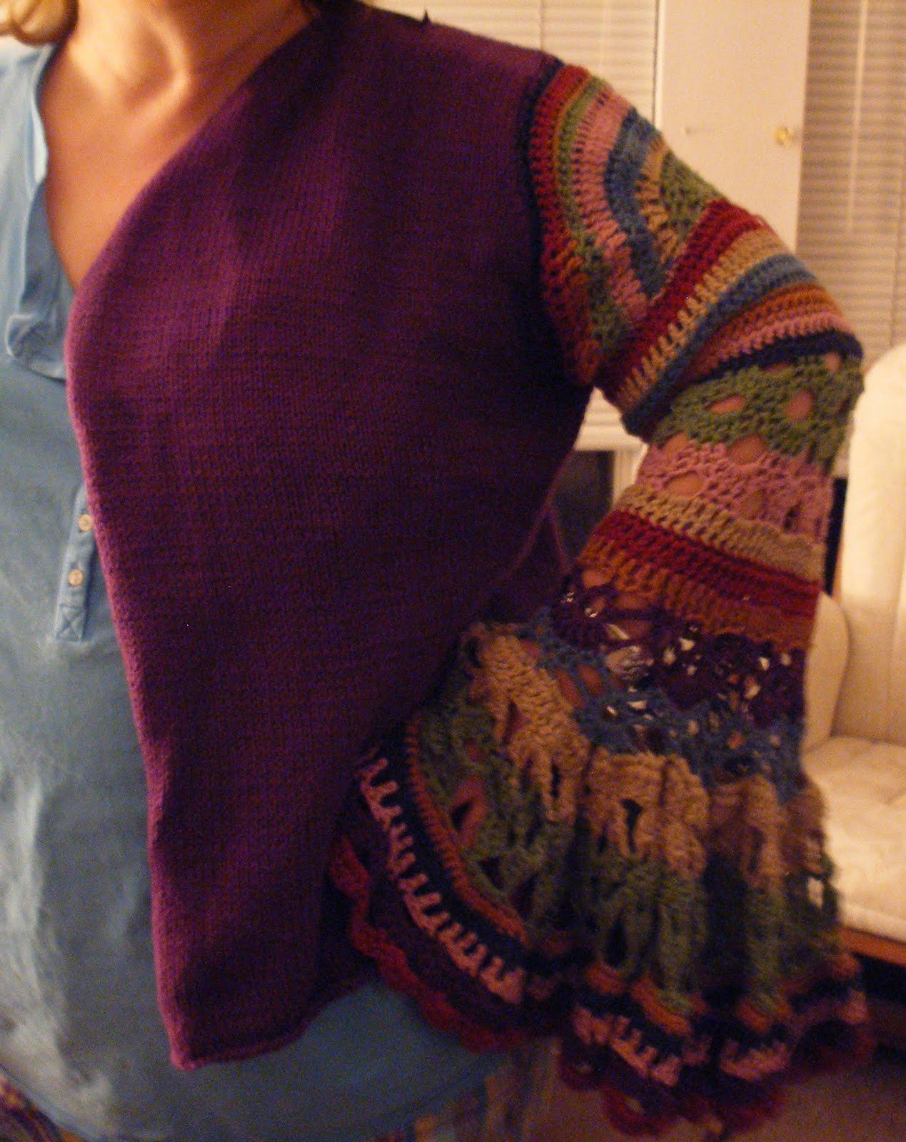 Rediscovering Heirlooms: Molly Weasley Sweater Update #2