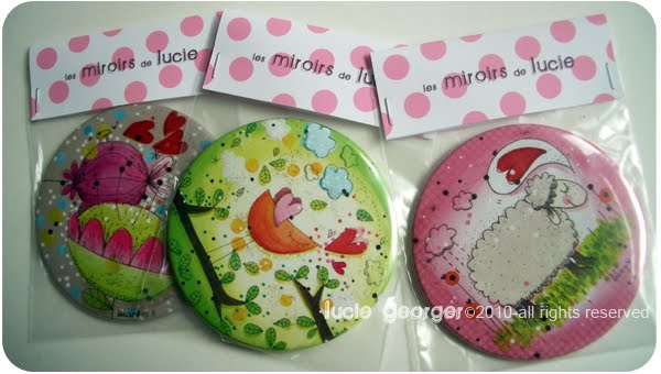 Lucie georger illustratrice pocket mirrors for Miroir des princes