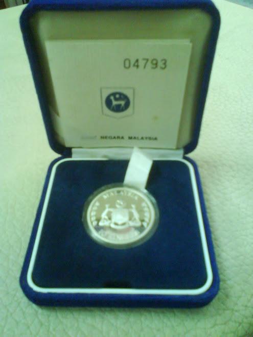 1989 COINS PROOF BANDARAYA MELAKA BERSEJARAH