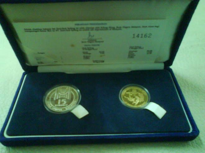 1989 COINS PROOF SUKAN SEA KE XV