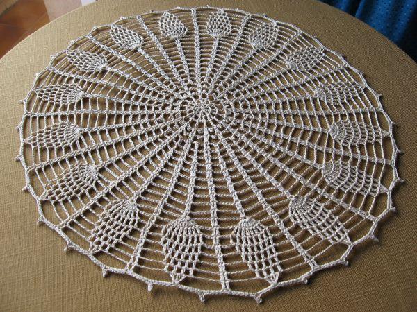 Tapete tejido a crochet, este es muy fácil , si alguna se anima le