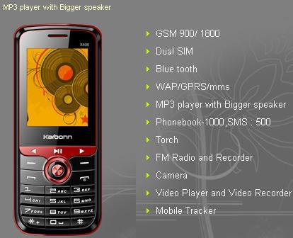 Karbonn K406 Music Phone