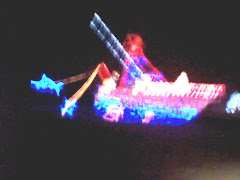 Christmas Light show, Snug Harbor marina