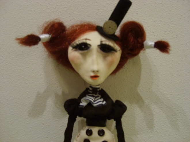 STEAMPUNK HAND MADE ART DOLL