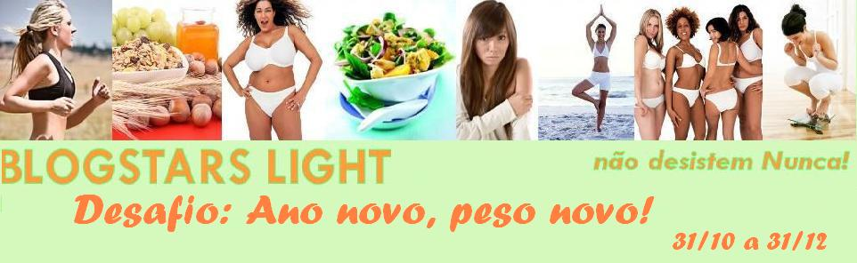 2º Desafio Blogstars Light - Ano novo peso novo!