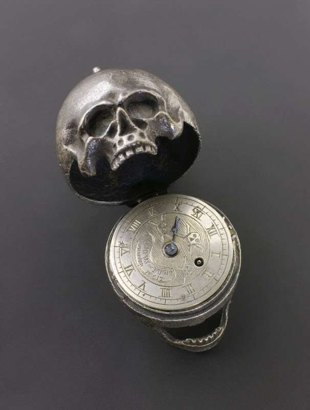 Skull Pocket Watch title=