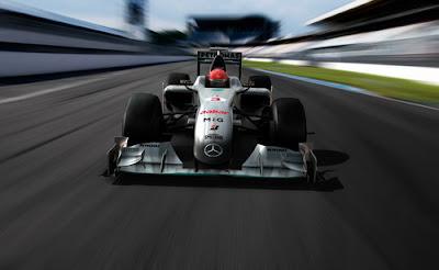 Foto F1 Mercedes GP W01