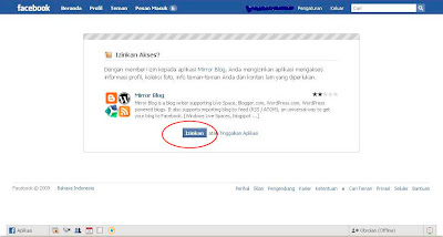 Cara Memasang Artikel Blog di Facebook