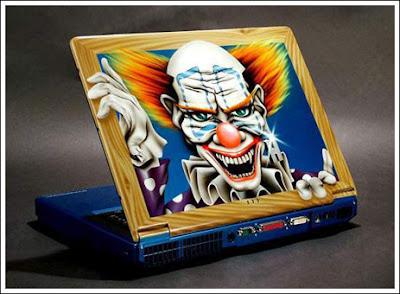 Foto Laptop Unik