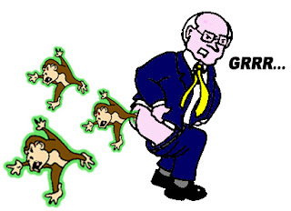 Dick Cheney Radioactive Monkeys