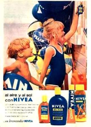 Anuncio. 1965  Nivea
