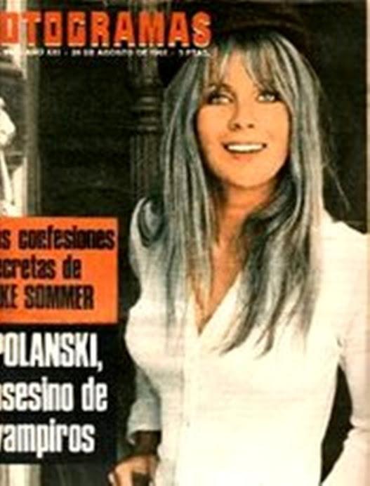 Fotogramas. nº 932  26/08/66 Elke Sommer