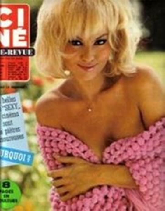 Cine-Revue. 1966 Mylene Demongeot