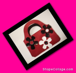 Mini Cartera roja