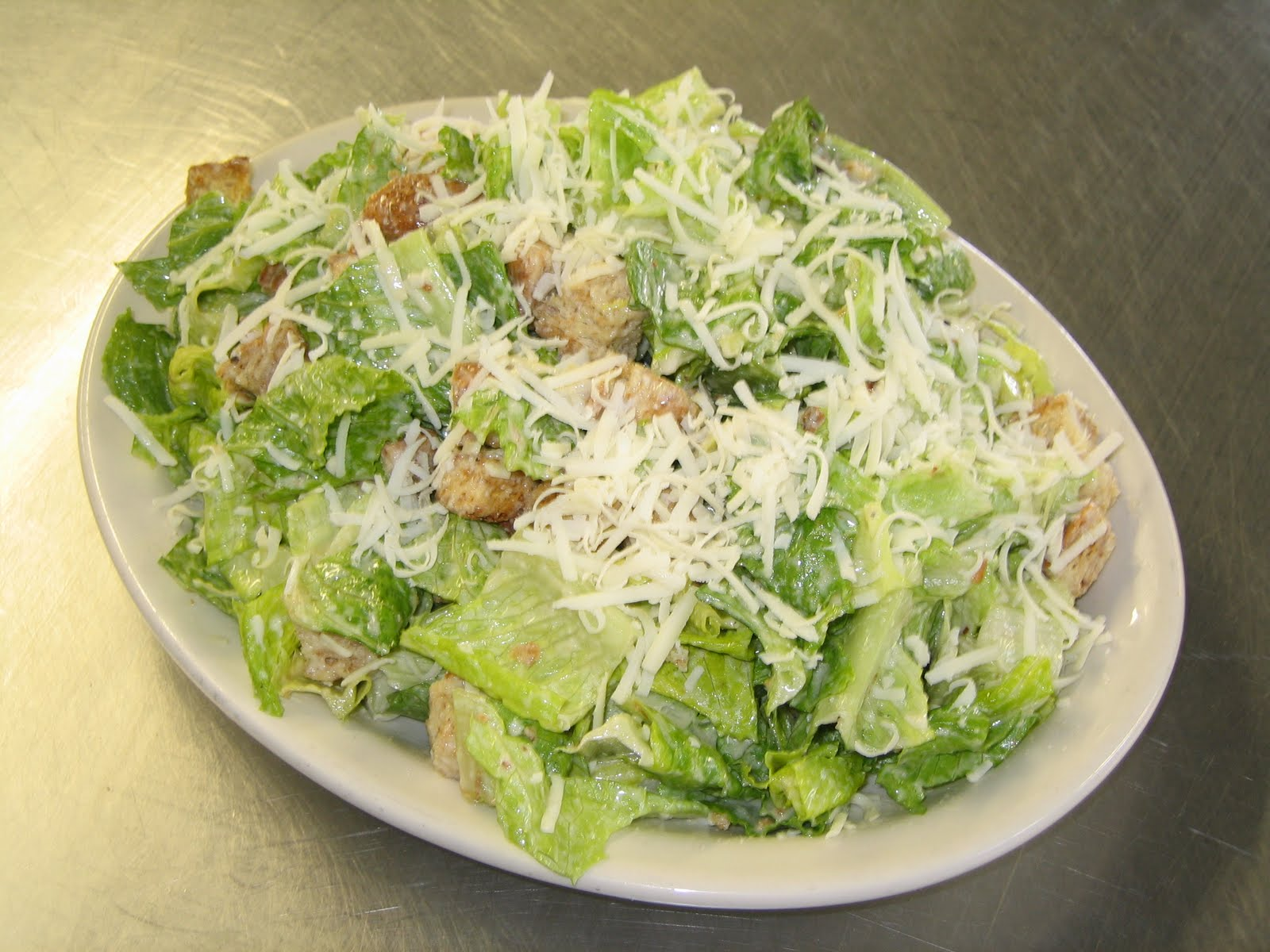 Caesar Salad - No Raw Egg, Hold the Anchovies