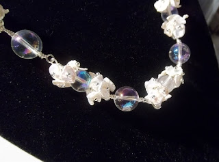 cornflake pearls and bridal jewelry at laurastaley.etsy.com