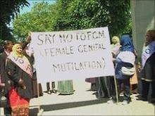 Contra a Mutilação Genital Feminina