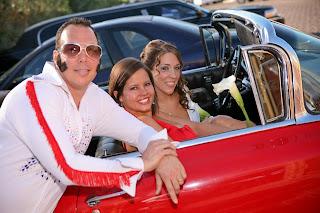 Vintage Cadillac Wedding