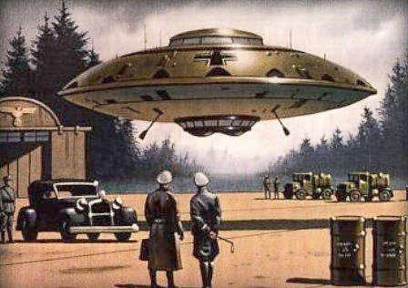 nazi ufo Jerman Ternyata Pernah Menciptakan Piring Terbang