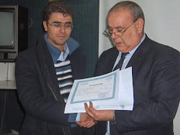مع محمد شلبي مدير مركز تدريب الصحفيين