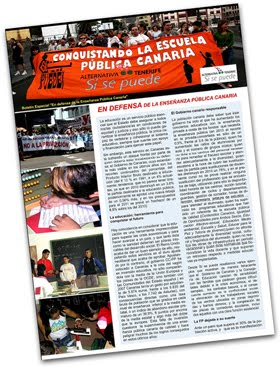 Boletín: en Defensa de la Educación Pública Canaria