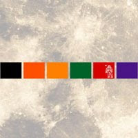 コントラスト / 月球