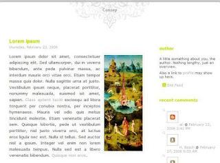 Conzep blogger template mdro.blogspot.com