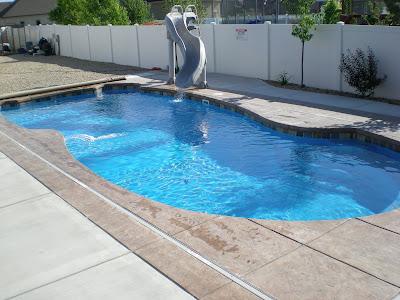 Blue Water Pools And Spa Riverton Utah Fiberglass Pool