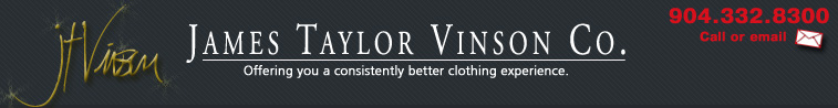 J.T. Vinson Company - Wardrobe advice you can use