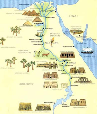 Resultado de imagen de Egipto y el Nilo