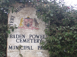Cemetery Park Sign