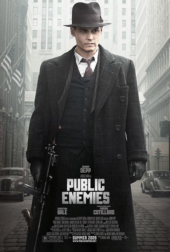 johnny depp public enemies wallpaper. johnny depp public enemies