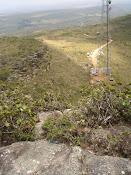 O acesso ao Morro do Pai Inácio
