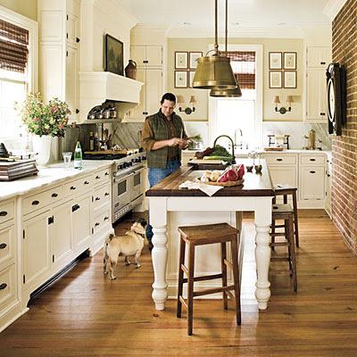 The Virginia House Diving Into The Farmhouse Kitchen