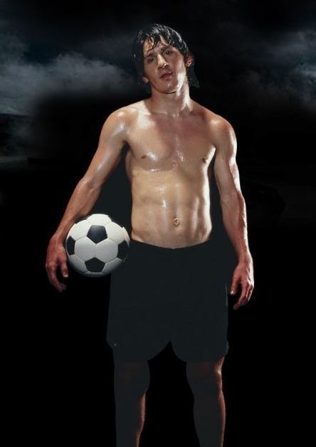 Messi Six Pack   newhairstylesformen2014.com
