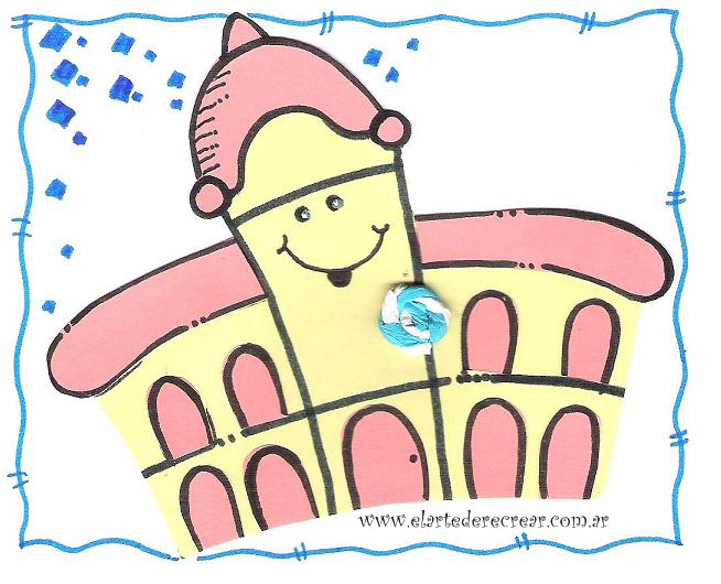 Dibujo infantil del cabildo para imprimir - Imagui