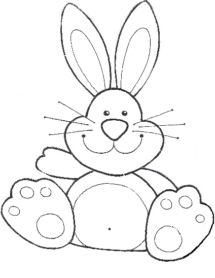 Moldes de caritas de conejo en foami - Imagui