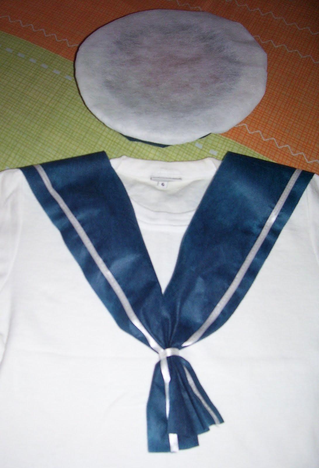 ... : Barco marinero, enviado por Celeste. Traje de marinero para niños