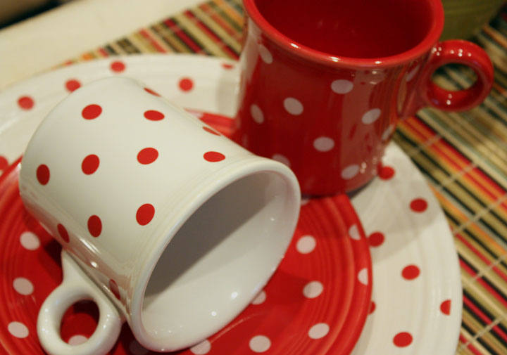 Introduced at HLCCA Conference 2010 in Nashville TN Polka-Dot Fiesta dinnerware was inspired by Rosie the Riveteru0027s polka-dot bandana from this yearu0027s ... & DISHing with HLCCA: Limited Edition Polka-Dot Fiesta!