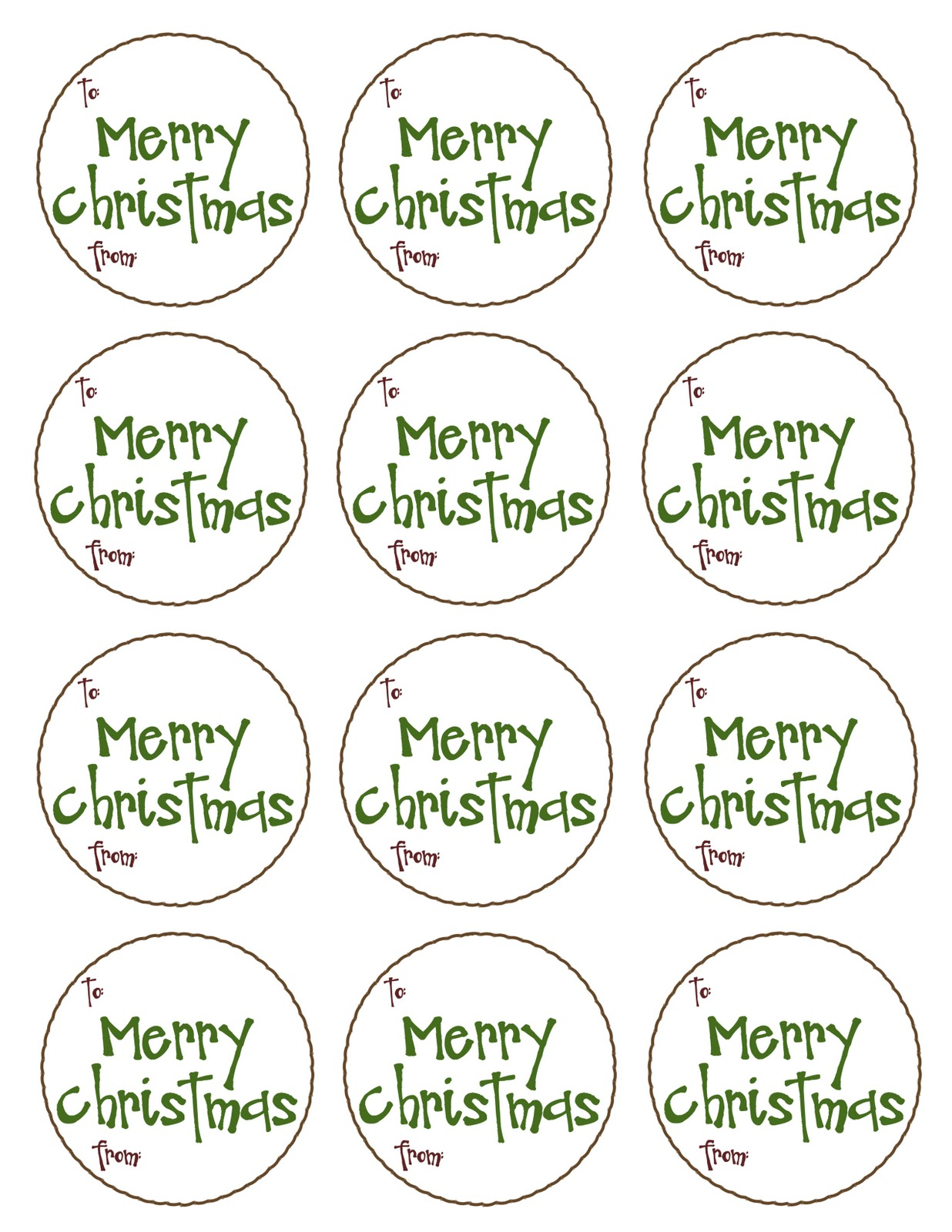 Sassy image with regard to merry christmas tags printable