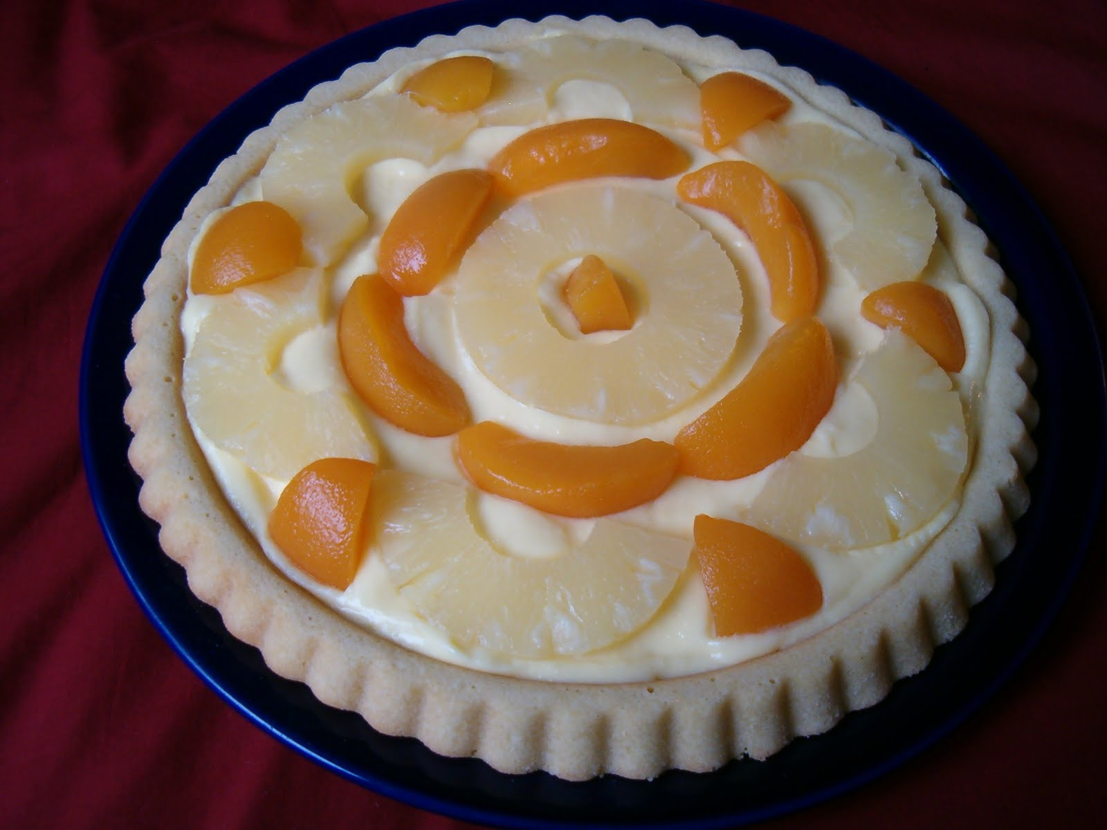 Planet of the Crepes: Hungarian fruit tart