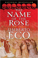 Bookcover for Umberto Eco's The Name of the Rose