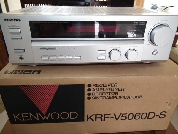 Lentera Akustika: Kenwood KRF-V5060D-S (AV Receiver)
