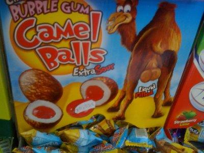 "Golosinas ""curiosas"" CamelBalls"