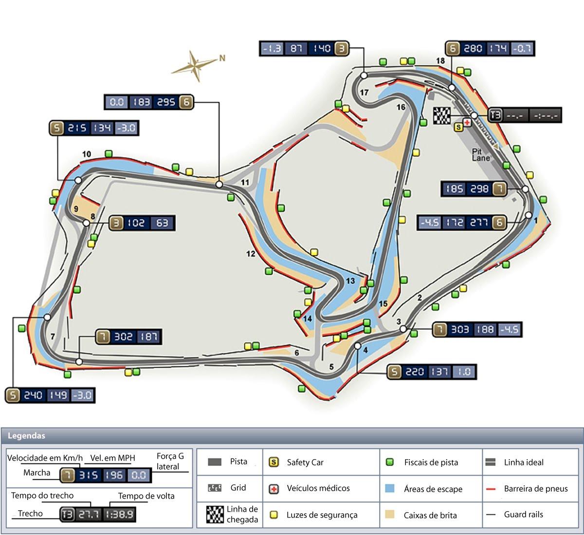 Circuito De Silverstone : Bit bytes do esporte: fórmula 1: análise técnica de silverstone