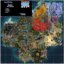 mapa Eudoria