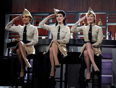Keri Hilson, Katy Perry, and Jennifer Nettles